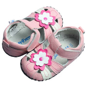 FREYCOO Daisy Soft Sole Baby Sandals Pink