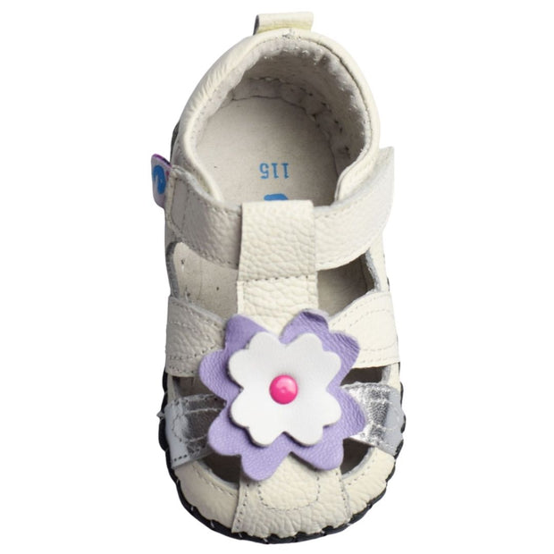 Freycoo Daisy Soft Sole Baby Sandal front view