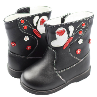 FREYCOO BUTTERFLY Boots Black