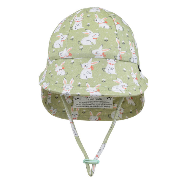 Bedhead hats Bunny legionnaire baby hat front view