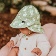 Bed Head Hats baby legionnaire hat on little girl