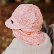 Back view of Bedhead Hats legionnaire hat for girls