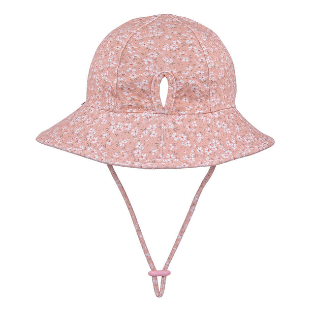 Bedhead Hats Sophia Ponytail bucket hat back view