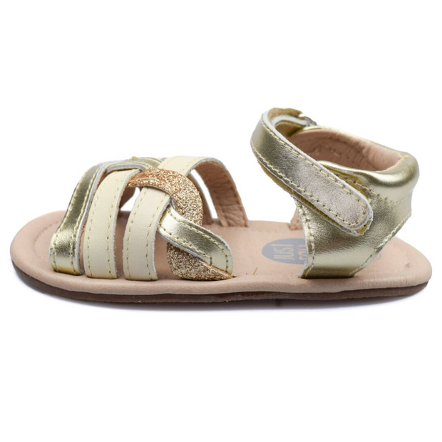 JUST RAY BABY DUSI Sandals Golden - Toddler