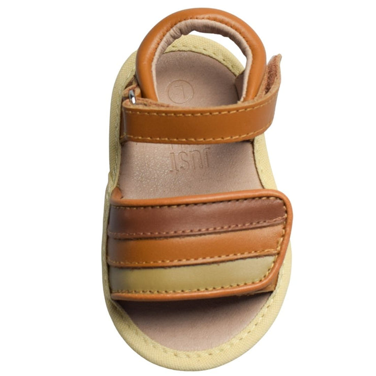 JUST RAY BABY DUSI Tan Baby Sandals