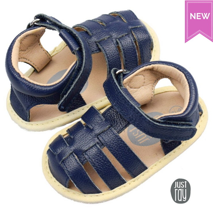 JUST RAY BABY JIMMY Sandals Navy