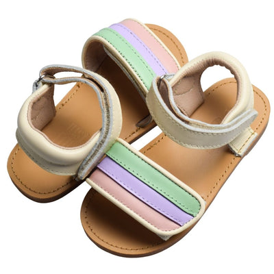 JUST RAY BABY DUSI Rainbow Toddler Sandals