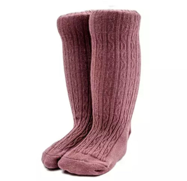 PONCHIK Knee-High Socks Mulberry