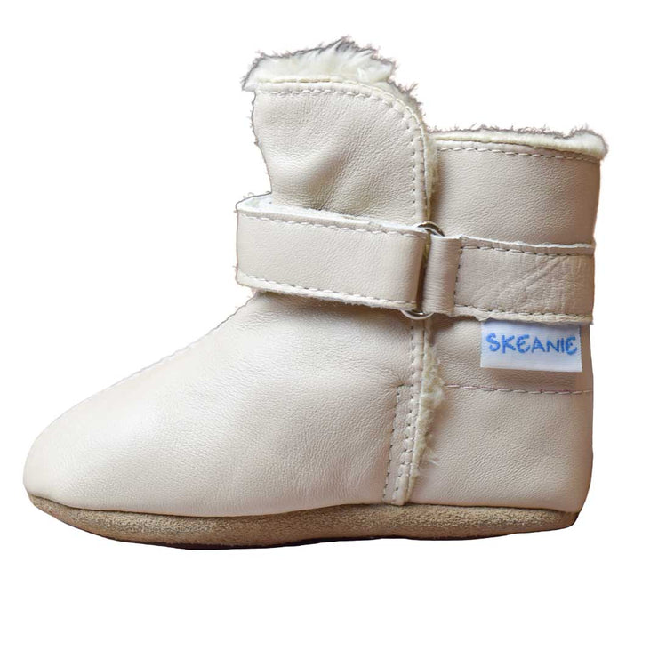 SKEANIE Infant SNUGG Boots Cream