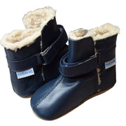 SKEANIE Infant SNUGG Boots Navy