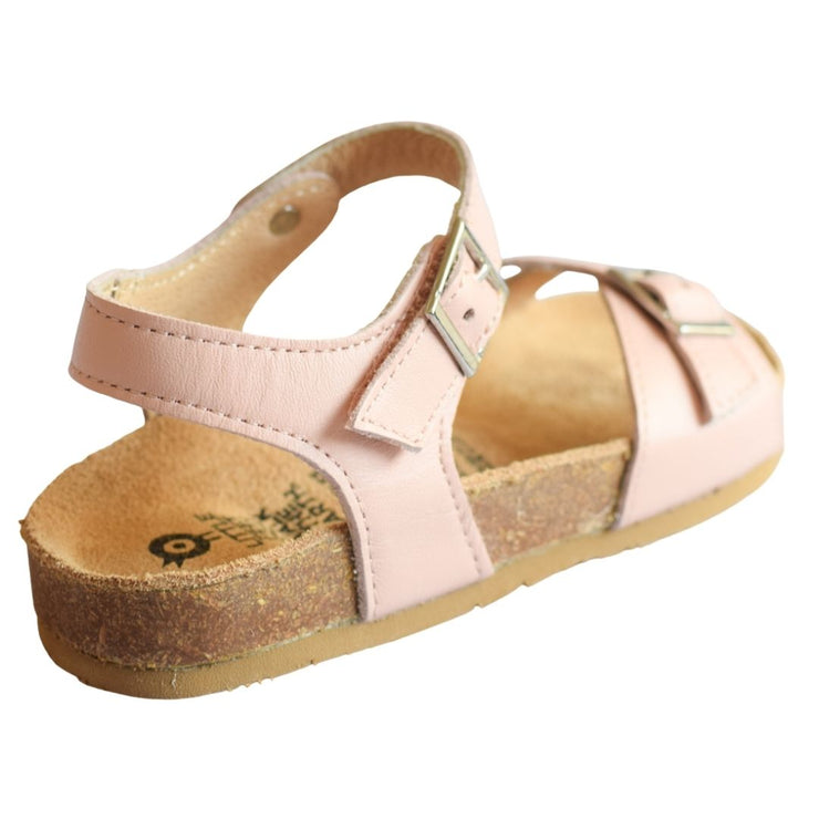 Old Soles Retreat Blush sandal for girls with faux buckle closure