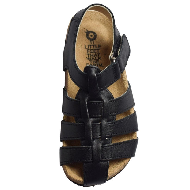 OLD SOLES ROADSTAR Black Boys Sandals