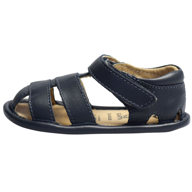 Old Soles Sandy Sandal in navy with velcro strap