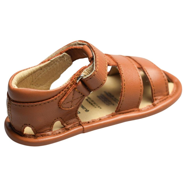 Old Soles Sandy Sandal in tan hook and loop strap