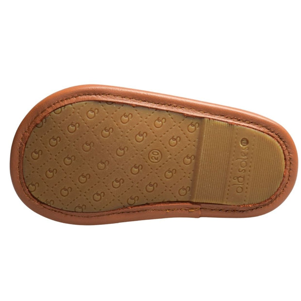 Old Soles Sandy Sandal in tan for toddlers outsole view