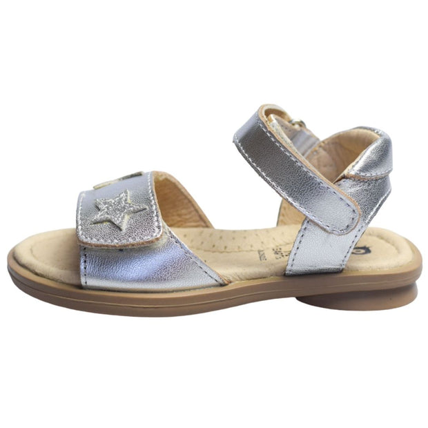 Old Soles Star Born Silver Girls Sandals side view