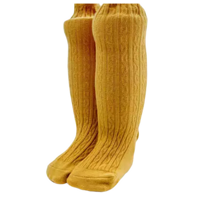 PONCHIK Knee-High Socks Maple
