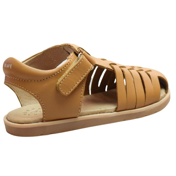 Pretty Brave leather sandals with velcro strap