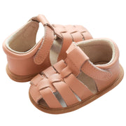 Pretty Brave Rio Salmon baby sandals