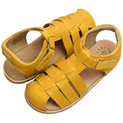 Pretty Brave Rocco leather sandals mustard