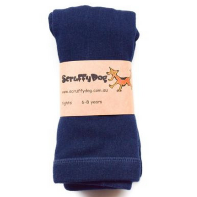 SCRUFFYDOG Navy Tights