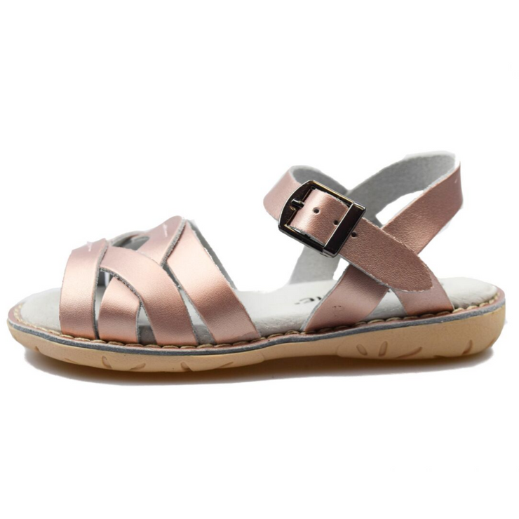 SKEANIE COAST SANDALS Rose Gold