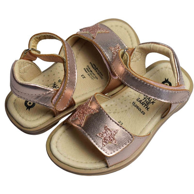 Old Soles Star Born Copper Glam Toddler Sandals