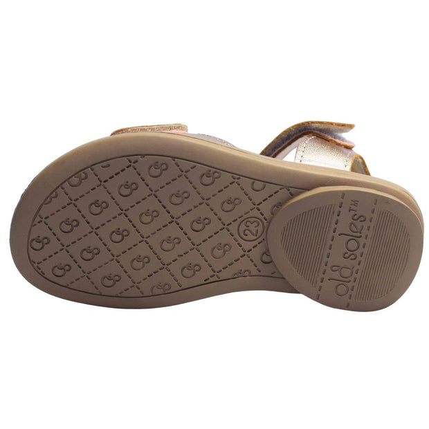 Old Soles Star Born Copper Sandals outsole view