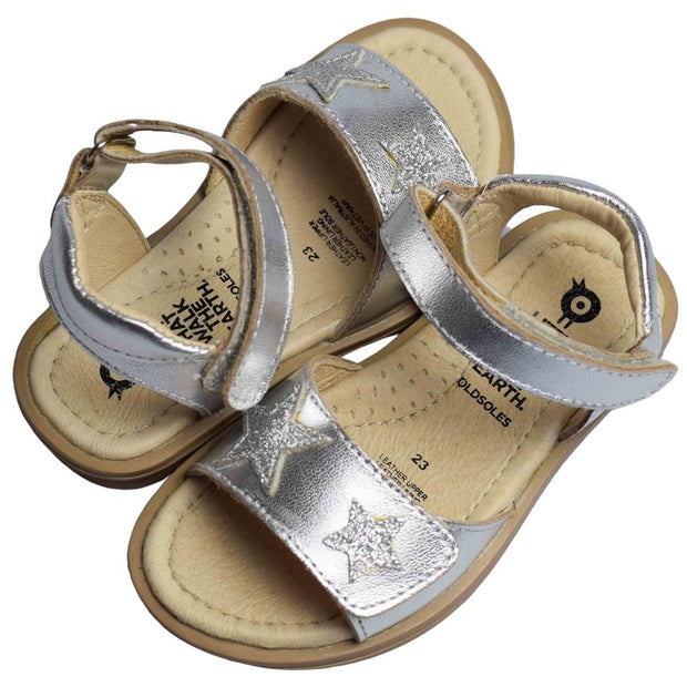 Old Soles Star Born Silver Sandals