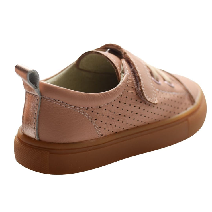 Tikitot Byron Sneakers Pink with velcro strap