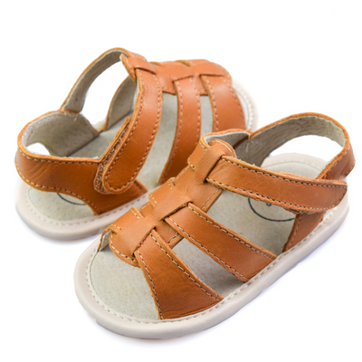 TIKITOT Amalfi Tan Sandals
