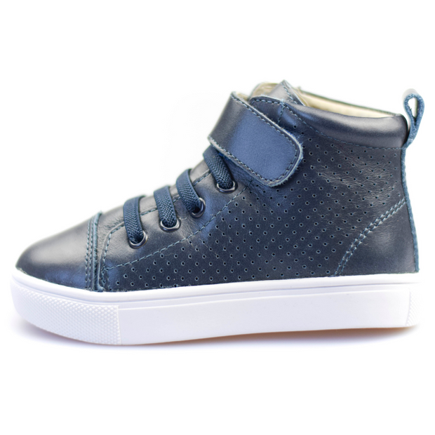TIKITOT BROOKLYN Midnight Blue High Tops
