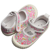 Walnut Melbourne Liberty Canvas Betsy Ann Pink girls shoe