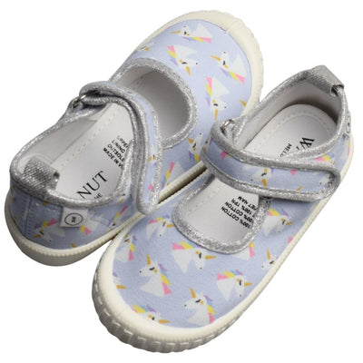 Walnut Melbourne unicorn kids canvas shoes
