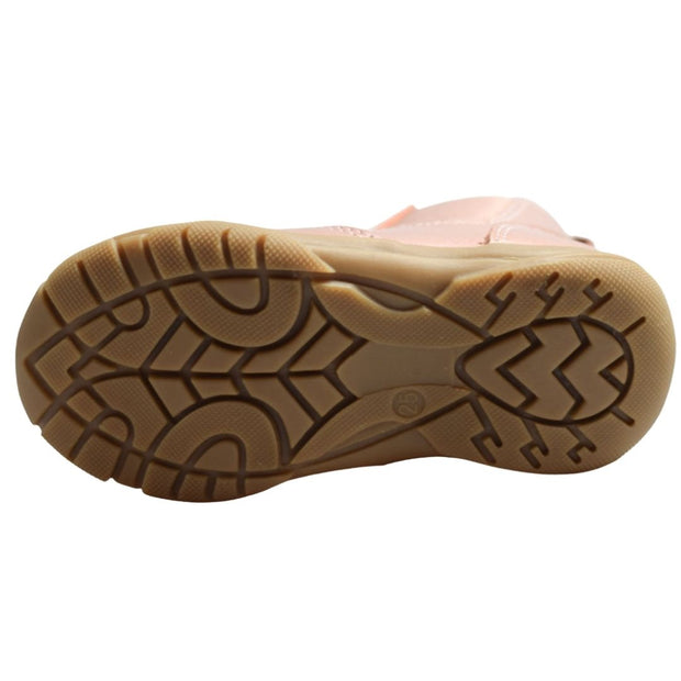 Walnut Melbourne kids boots outsole view