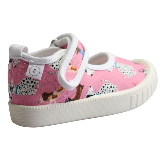 WALNUT MELBOURNE PAMPER PUPS CANVAS Pink