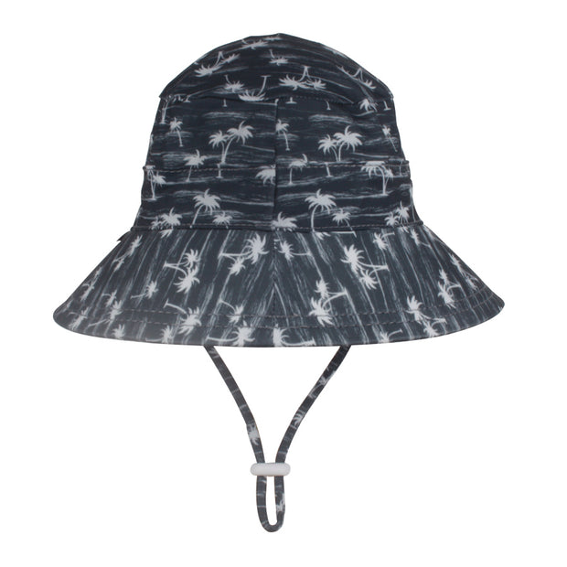 Bedhead Hats Aloha Bucket Swim Hat Back View