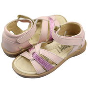 Old Soles Clarise Pink Glam Sandal for girls
