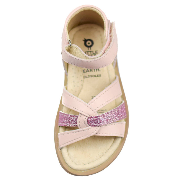 Old Soles Clarise Pink Glam Sandal side view