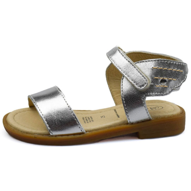 Old Soles Flying Sandals Silver side view