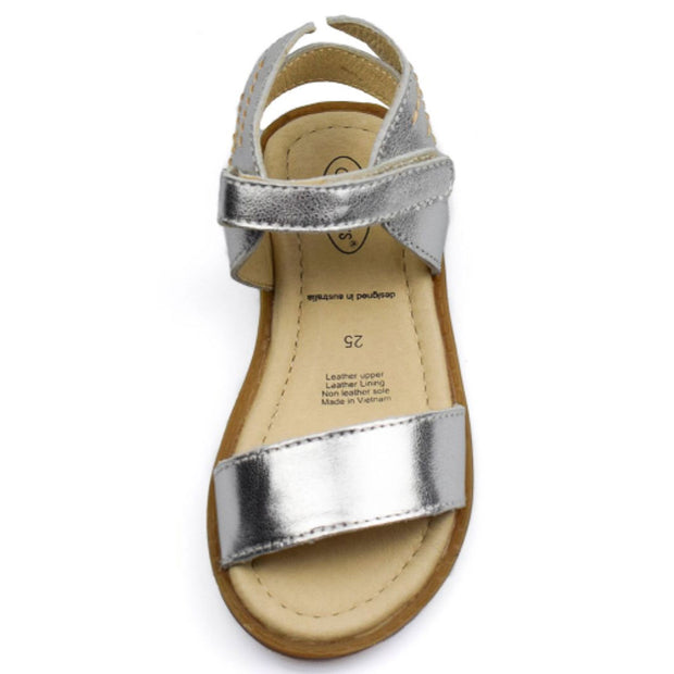 OLD SOLES FLYING SANDALS Silver