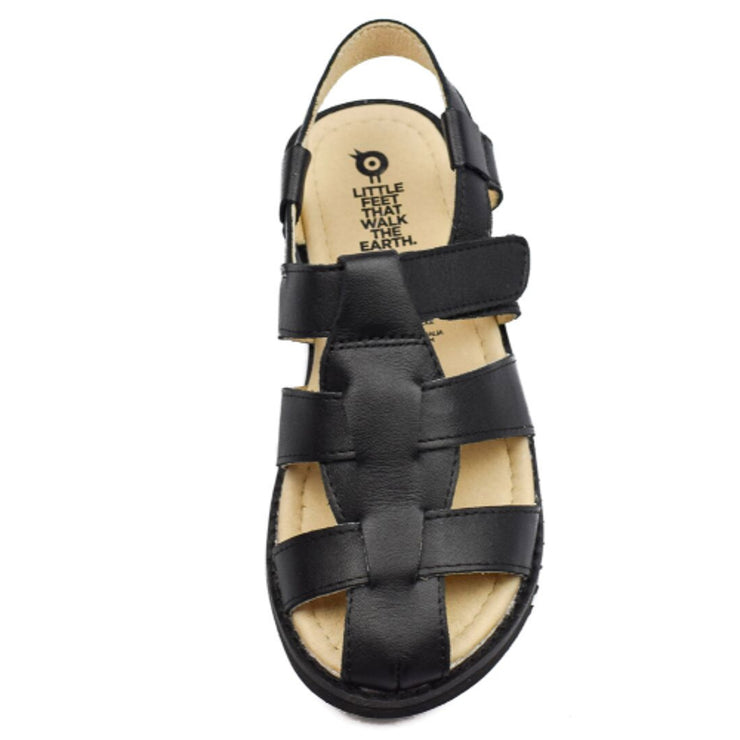 Old Soles Hashtag Sandals for boys overhead view