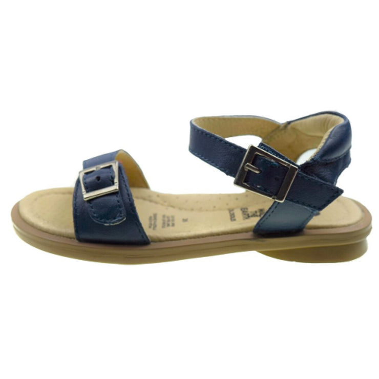 Old Soles Nevana Navy blue sandals for girls side view