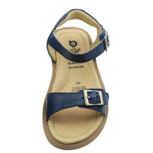 Old Soles Nevana Navy blue sandals for girls overhead photo