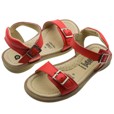Old Soles Nevana red sandals for girls