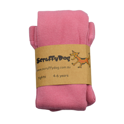 SCRUFFYDOG Strawberry Pink Tights