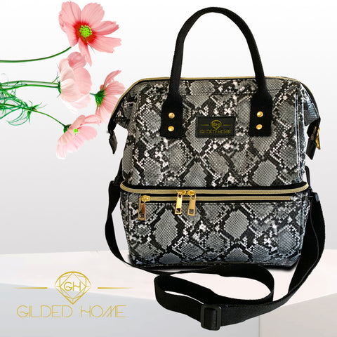 Gilded Imports & Truzealia Insulated Lunch Bag