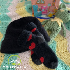 Truzealia Baby Heart socks New Zealand Made