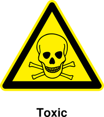 Beware of toxic products