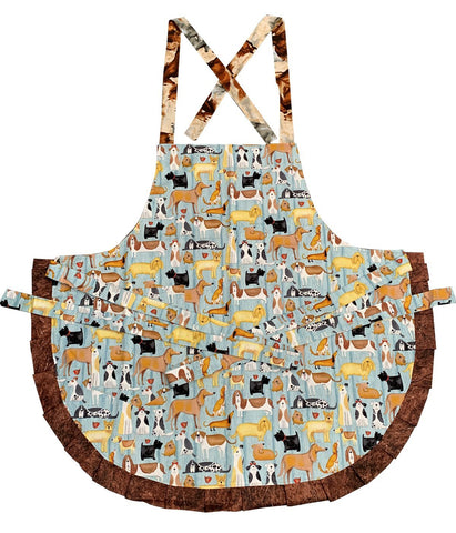 Dog & Horse Double Sided Apron - Truzealia